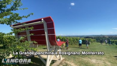 Photo of La Grande panchina a Rosignano Monferrato (video)