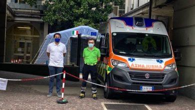 Photo of Riaperto il PPI; ambulanza della Croce Verde a supporto