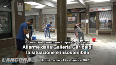 Photo of Acqui Terme – Allarme dalla Galleria Garibaldi la situazione è insostenibile (video)