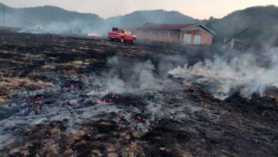 Photo of Spigno: bruciano sterpaglie e rotoballe