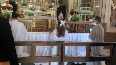 Photo of Carpeneto: celebrate tre prime comunioni