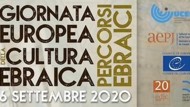 Photo of Giornata Europea della Cultura Ebraica: gli appuntamenti a Nizza M.to