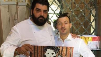 Cannavacciuolo con Claudio Calcagno