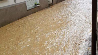 Photo of Maltempo nell'Acquese: a Bistagno strade allagate, ad Acqui esonda il Medrio