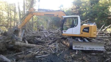 Photo of Rossiglione: liberata dai tronchi l'area di Gamundino