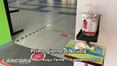 "Photo of Acqui Terme – 14 settembre: ""Si ritorna a scuola"" (video)"