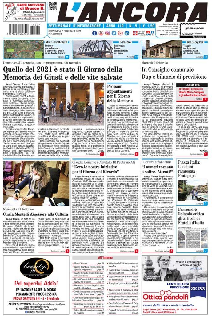 prima pagina num5/2021