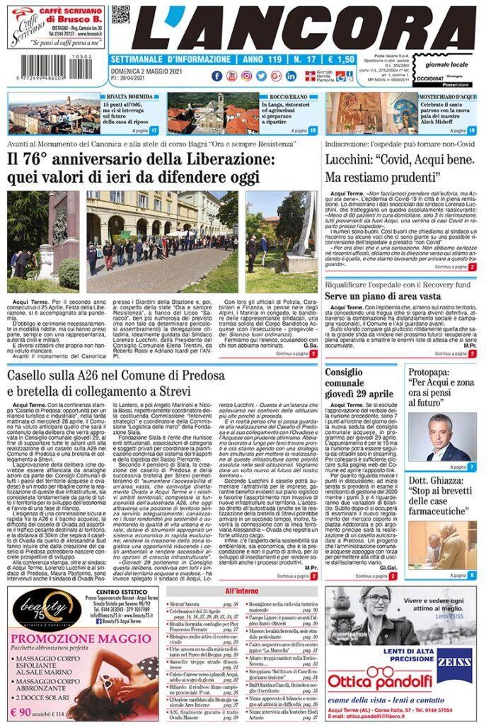 prima pagina num.17-2021