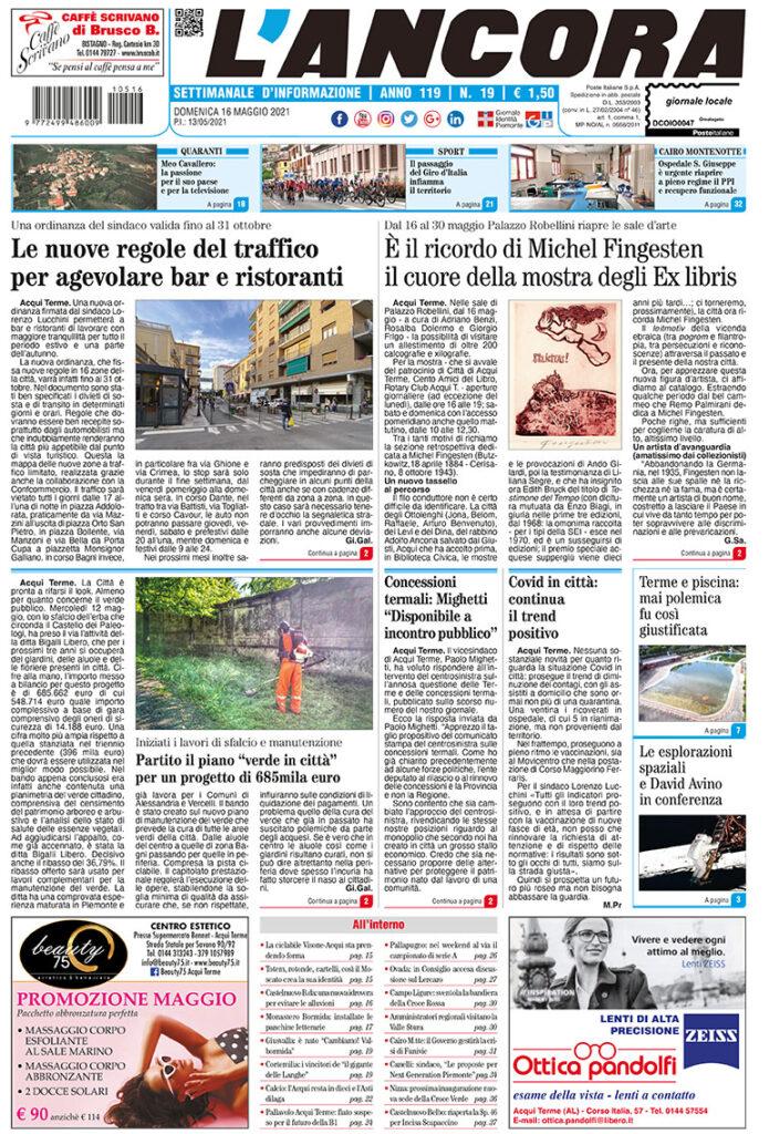 prima pagina num.19/2021
