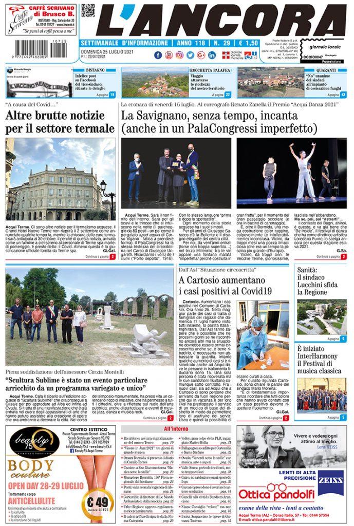prima pagina num.29/2021