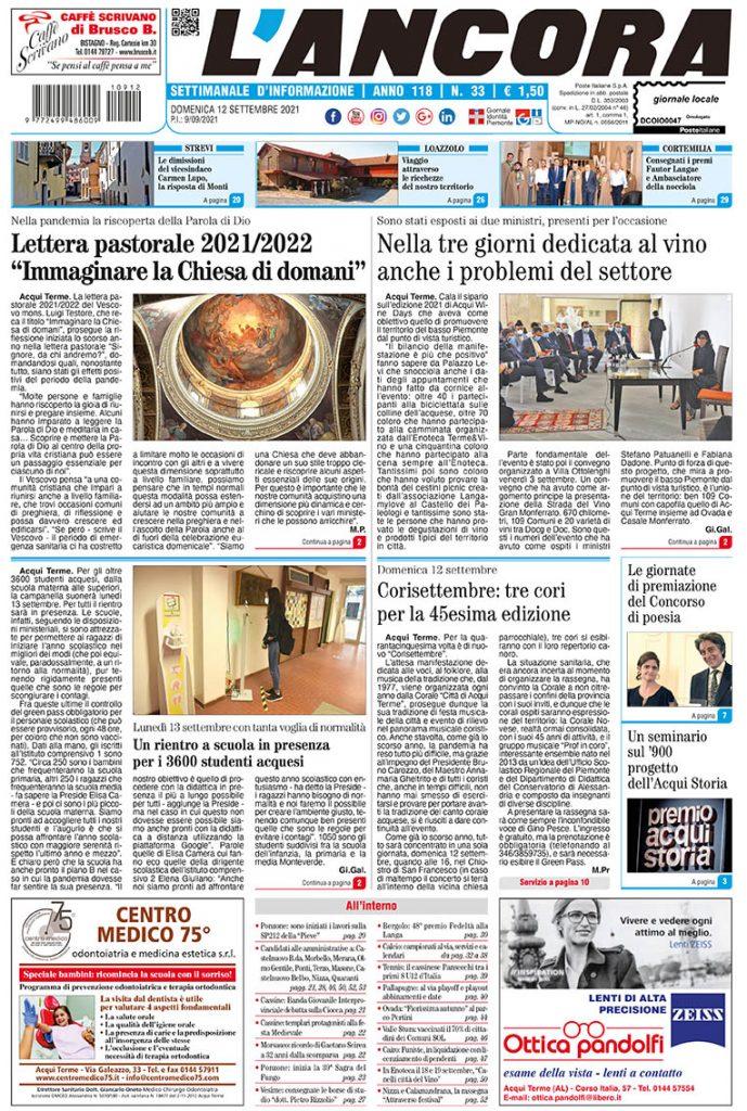 prima pagina num33/2021